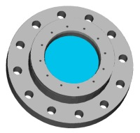 View Model B Flange in 3D