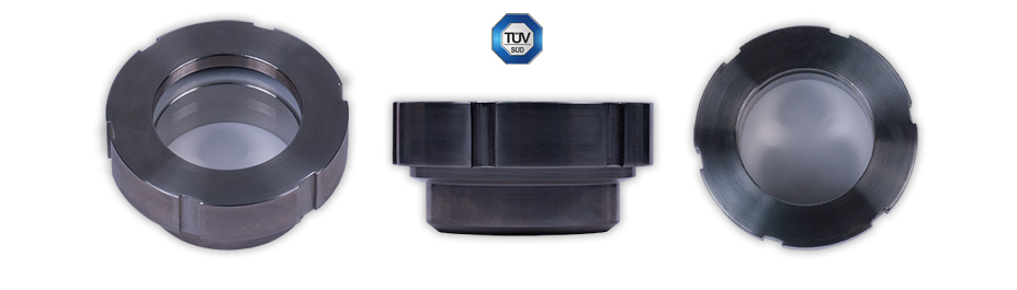 Type I Sight Glass with Threaded Retainer Cap