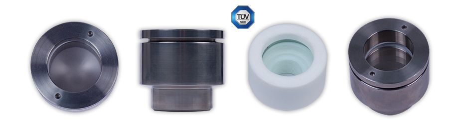 Type II Sight Glass with Threaded Retainer Cap