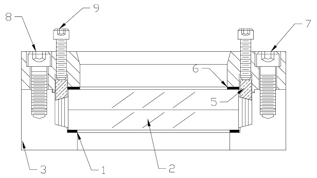 Model B Weld Sight Glass Assembly